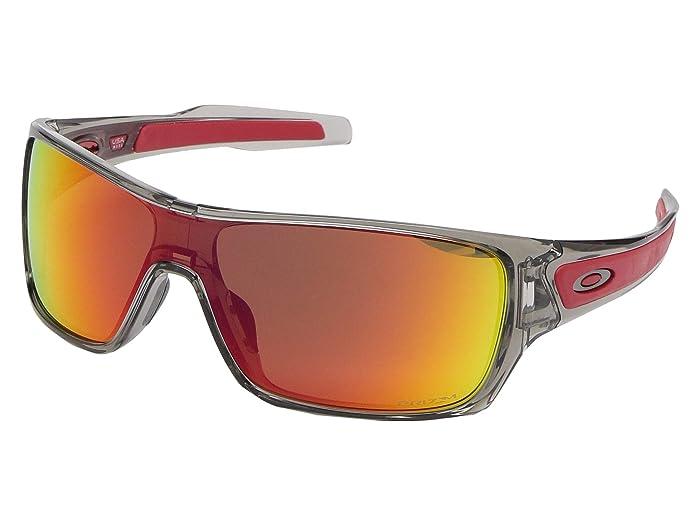 Oakley Turbine (Grey Ink w/ PRIZM Ruby) Sport Sunglasses