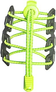comprar comparacion Canwn 2 Pares Cordones Elásticos para Zapatos, Atar y Sin Nudo Reflexivo Cordones de Zapatos con Longitud de 120cm para ...