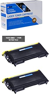 Inksters Compatible Toner Cartridge Replacement for Brother TN350/TN2000/TN2025 Black Jumbo - Compatible with HL 2030 2040 2070N DCP 7010 7020 7025 IntelliFAX 2820 2910 2920 MFC 7220 (2 Pack)