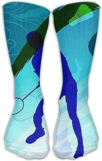 カジュアルロングランニングハイソックスストッキング郵便ワーカー米国国旗クルースポーツチューブ膝ソックスギフトストッキング