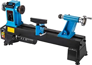 Mophorn Wood Lathe 10 x 18 Inch,Bench Top Heavy Duty Wood Lathe Variable Speed 500-3800 RPM,Mini Wood Lathe Regulation Dig...