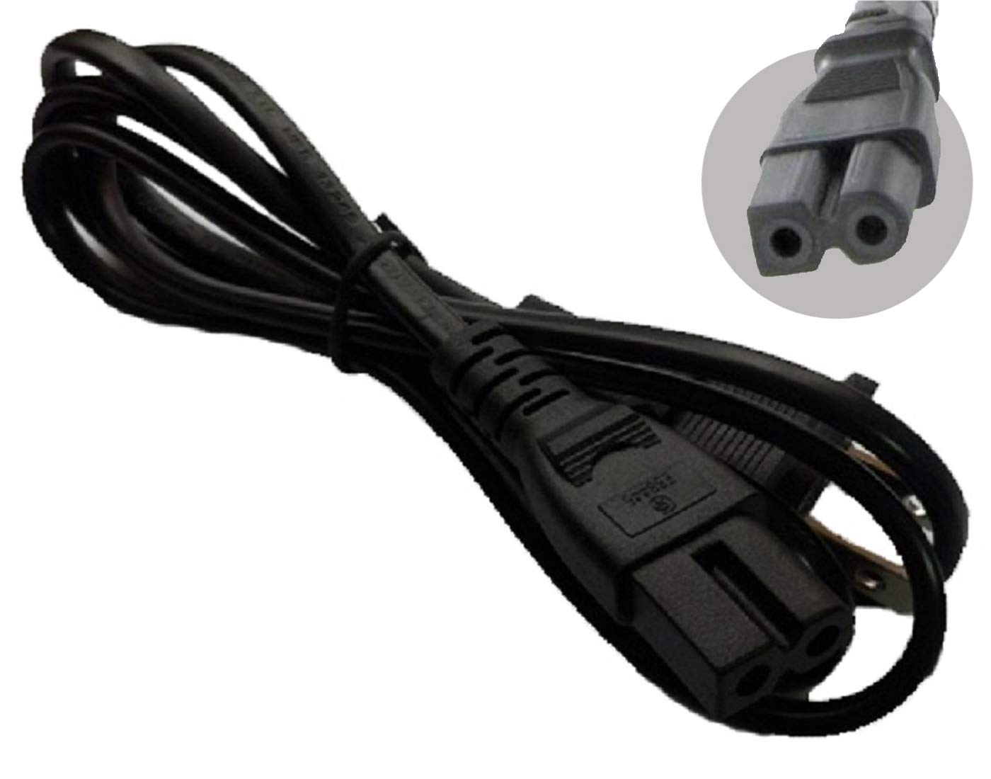 LOT OF 2 AC POWER CORD for Comcast Cable box Directv Dish DVR 6'