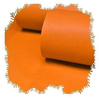 YANZHEN Hallway Runner Rugs Corridor Carpet Disposable Cutable Soft Non-Slip Extra Long Narrow Hall, Orange, Customize (Co...