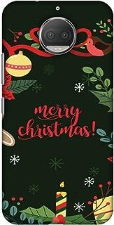 Motorola Moto G5s Plus XT1803 Case, Premium Handcrafted Designer Hard Shell Snap On Case Shockproof Printed Back Cover for Motorola Moto G5s Plus XT1803 - Christmas Cheer 1