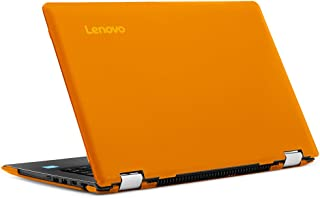 """mCover iPearl Hard Shell Case for New 14"""" Lenovo Ideapad Flex 5 14 (5-1470, NOT Compatible with Older Flex 4-1470 Series) Laptop Computers (Orange)"""