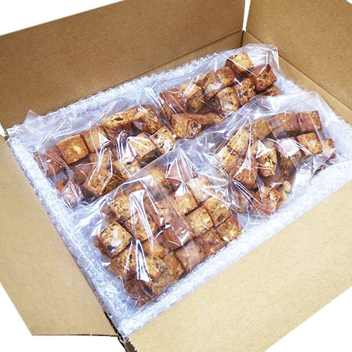 いたずら副産物空白蒲屋忠兵衛商店  大麦と果実のソイキューブ  800g(200g×4袋)