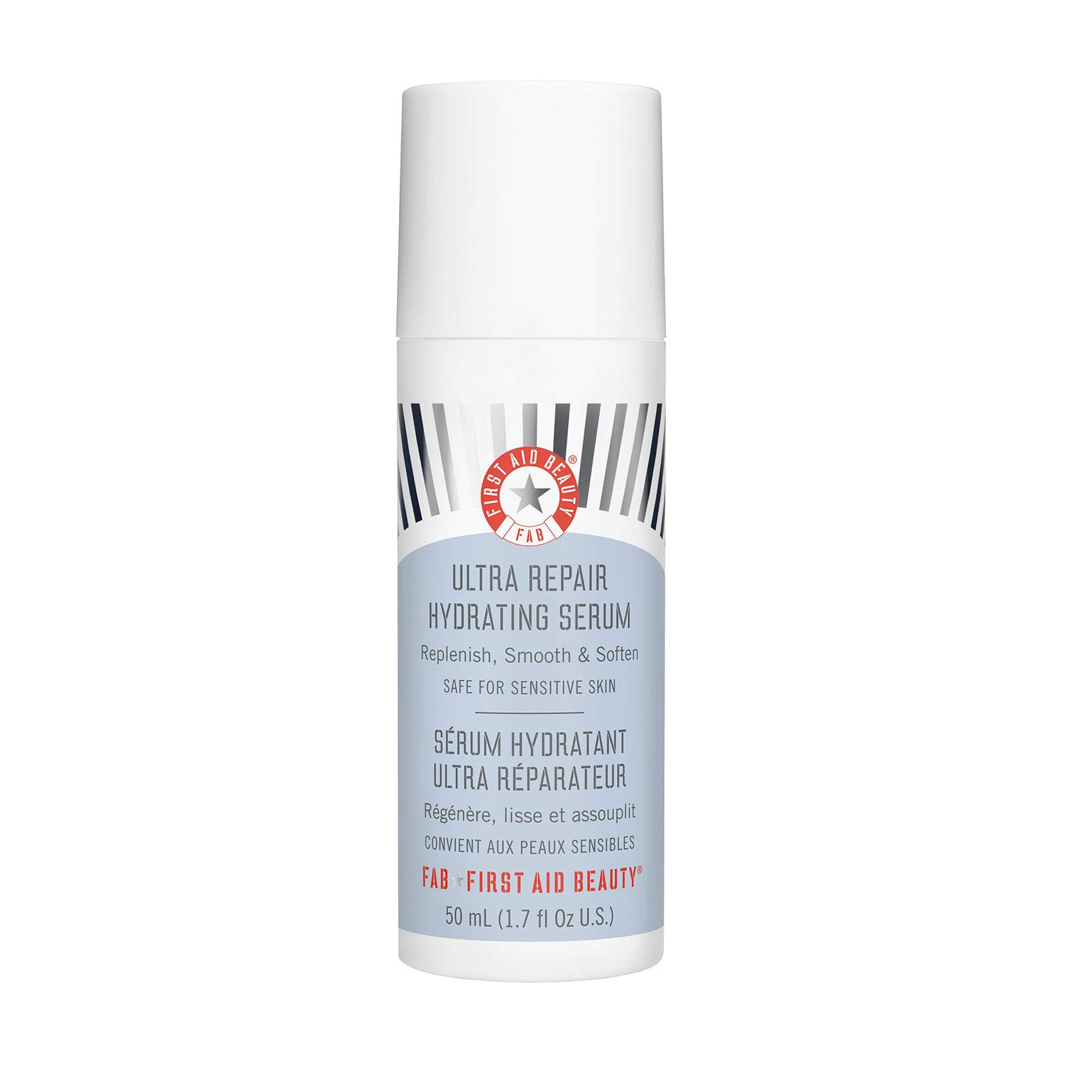 First Aid Beauty Ultra Repair Hydrating Serum with Hyaluronic Acid, Anti-Aging Face Serum for Sensitive Skin