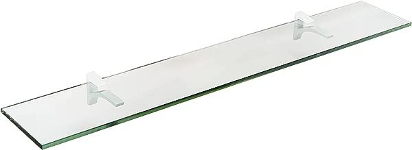 Spancraft Glass Cardinal Glass Shelf White 4 75 X 36