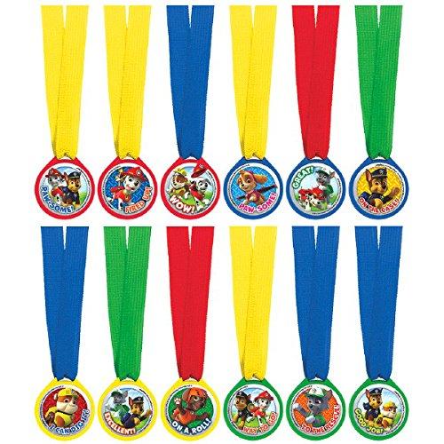 Amscan International Paw Patrol Mini Award Medaillen