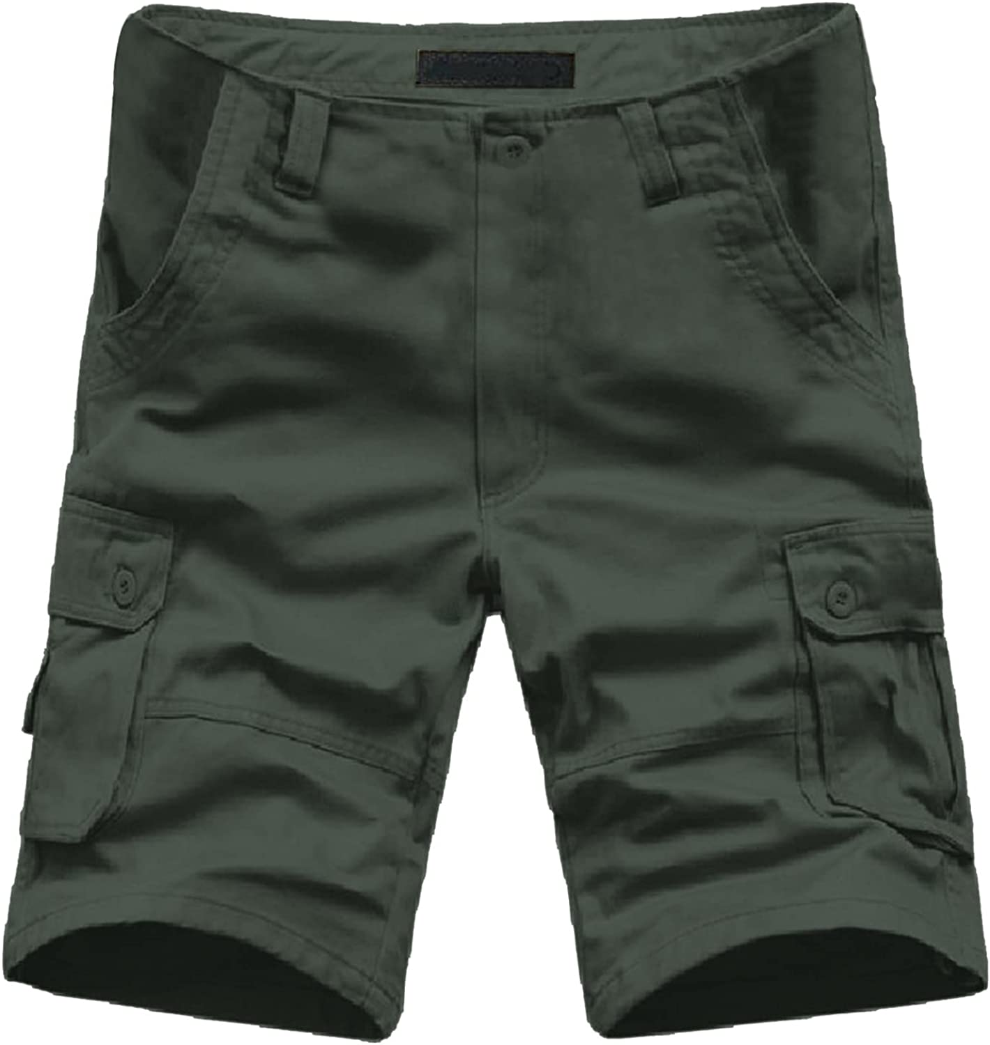 PHSHY Short Pants for Mens 2021 Summer Casual Cargo Sport Outdoors Beach Work Trousers Plus Size with Pocket M-7XL