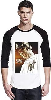 # 99 NYY Yankees Judge Chemise de Baseball pour Hommes Maillot de Baseball pour Fans T-Shirt /à Manches Courtes Uniforme de l/équipe Top boutonn/é Rayures Verticales Blanches M-3XL