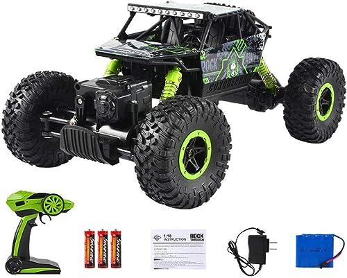 GLBS Wiederaufladbare Fernbedienung Auto Spielzeug 4WD Racing fürzeug Safe Durable Ofüroad RC Gel ewagen 2,4 GHz High-Speed-Rennwagen Funksteuerung Spielzeug für Kinder Kinder