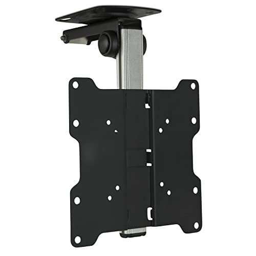 Retractable tv mount Slanted Ceiling Mountit Mi4222 Tv Ceiling Mount Kitchen Under Cabinet Tv Bracket Folding Automotrizrodriguezmexicoinfo Motorized Tv Mounts Amazoncom
