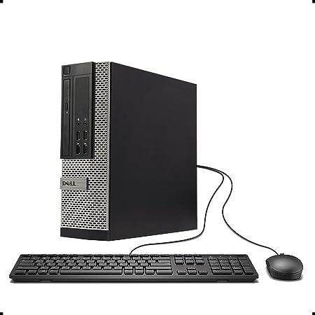 DELL Optiplex 790 SFF Small Form Factor Business Desktop Computer PC (Intel Dual Core i3 CPU 3.3GHz, 4GB DDR3 Memory, 500GB HDD, DVDRW, Windows 10 Professional) (Renewed)']