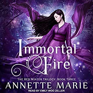 Immortal Fire audiobook cover art