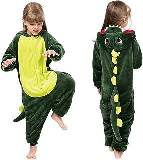Mono de franela con capucha para niños y niñas, con diseño de unicornio, dinosaurio, león, cebra, supersuave