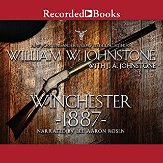 Winchester 1887 audiobook cover art