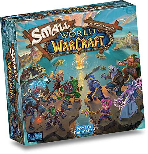 Asmodee Italia - Small World of Warcraft - Gioco da Tavolo, Edizione in Italiano (8817)