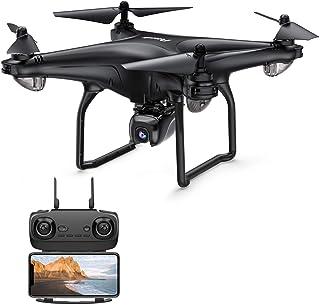 Potensic D58 Drone GPS con Cámara HD 1080P FPV 5G WiFi Transmisión RC Quadcopter 120 Ángulo para Niños y Adultos Ajustable 90 ° Lente Sígueme Modo Órbita Tiempo de Vuelo 15 Minutos
