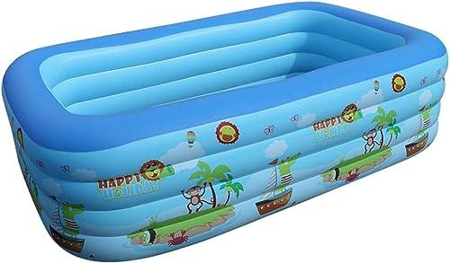Szblk La Piscine Gonflable des Enfants Les glissières gonflables Extra Grandes de bébé de ménage bébé Seau nageant épaissi la Grande Famille d'enfants baignant la Piscine