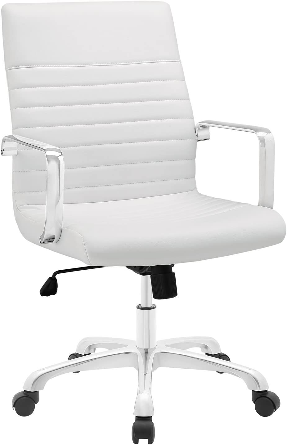 Tulsa Mall Modway MO-EEI-1534-WHI Finesse Mid Back Chair White Great interest Office