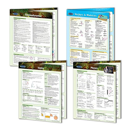 Physics Reference Guides- High School Physics Quick Reference Guide - 4 Chart Bundle