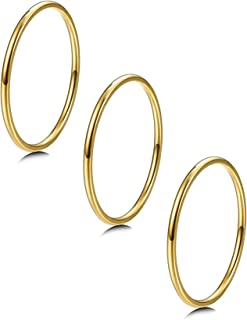 super thin gold ring