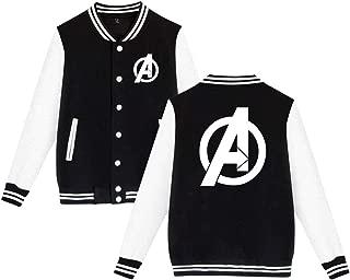 Avenger's Endgame Logo Baseball Uniform Jacket Unisex Coat Sweater Sweatshirt