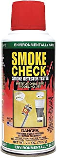 Home Safeguard 25S 2.5-Oz. Smoke Detector Tester Spray by Home Safeguard