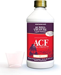 Buried Treasure ACF Extra Strength Advanced Immune Recovery with Vitamin C 1000mg, Elderberry Echinacea Zin...