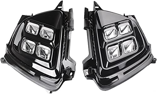 discount Mallofusa outlet sale Pair Daytime Running Light DRL Driving outlet sale Fog Lamp for KIA Sorento 2015 2016 outlet online sale
