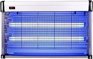 Potente lámpara eléctrica for Matar Mosquitos, de 40 vatios, atrae a la luz UV/lámpara for Acampar de Fly Killer, Zapatero de Insectos, for Interiores, cocinas, oficinas, Patios al Aire Libre, tiend