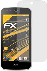 atFoliX Screen Protector Compatible with Acer Liquid Z330/M330 Screen Protection Film, Anti-Reflective and Shock-Absorbing FX Protector Film (3X)