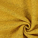 Kochwolle Klassik gelb — Meterware ab 0,5m — STANDARD