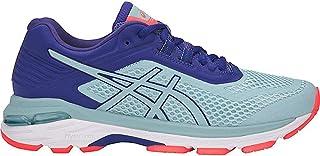 Mujeres GT 2000 6 Bajos & Medios Cordon Zapatos para Correr, Porcelain Blue/Porcelain Blue/Asics Blue, Talla 6