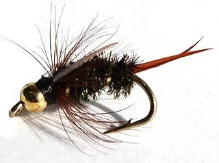 Flies Direct BH Prince Nymph Assortment Trout Fishing Flies (1-Dozen)