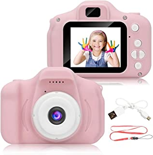Yatri Creation Digital Video Camera, 5.0MP Rechargeable Camera Shockproof 1080P HD Camcorder for Kids Toddler Indoor Outdoor Travel (Memory Upto 32GB- SSD Card Not Included)