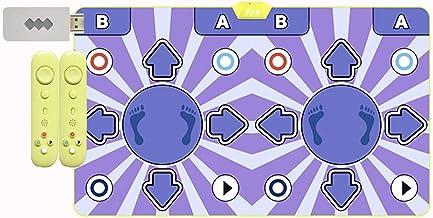 Dubbele Dansende Mat Thuis Somatosensorische Dansende Machine Gewichtsverlies Loopgame, Dansende Stap Pad (Color : 11MM a)
