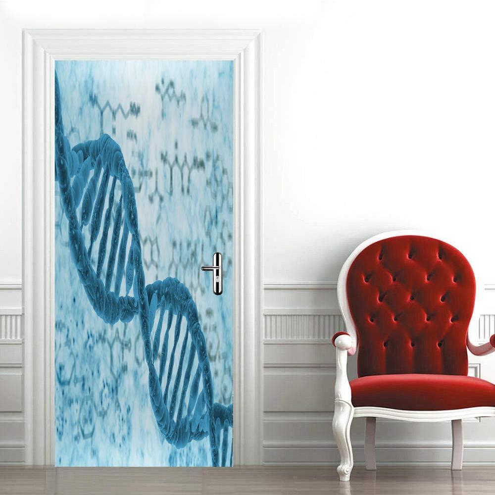 Huangmang 3D Door Decals Self Beac Murals High order Ranking TOP9 Adhesive Stickers