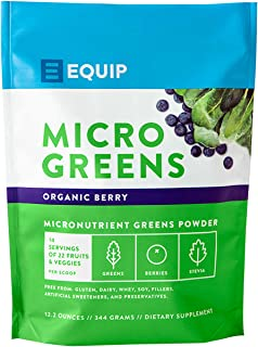 Organic Greens Superfood Powder Supplement: Best as Super Amazing Plant Based Juice Drink Mix Ideal for Athletic, Paleo, Vegan, Keto Diet. Raw Grass Power Vitamin Vibrance in Smoothies & Shakes