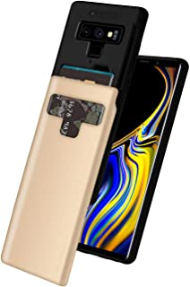 Goospery Galaxy Note 9 Case [Sliding Card Holder] Protective Dual Layer Bumper [TPU+PC] Cover with Card Slot Wallet for Sa...