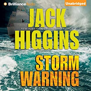 Storm Warning                   By:                                                                                                                                 Jack Higgins                               Narrated by:                                                                                                                                 Michael Page                      Length: 8 hrs and 31 mins     14 ratings     Overall 4.0
