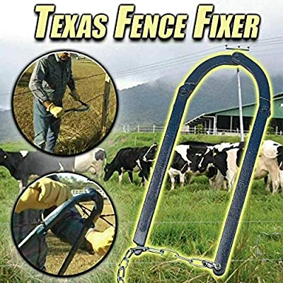 TIFALEX Fence Repair Tool Texas Fence Fixer Repair Tool for Garden Fence,Chain Fence Strainer,Fence Fixer Tool Fence Energiser Repair Tool,Manual Patch Garden Fence Fixer Stretcher Tensioner