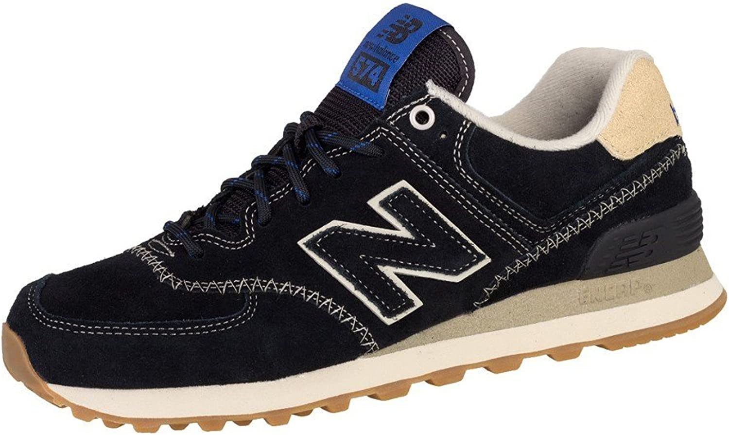 New Balance 574 shoes Trainers Black Tan