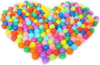 200ピースカラフルなボール楽しいボール柔らかいプラスチックオーシャンボール赤ちゃん子供のおもちゃ水泳ピットおもちゃ