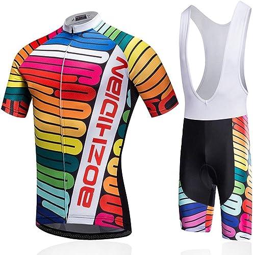 WZCV VêteHommests cyclisme maillot homme femme transpiration hommeches courtes gilet vélo vêteHommests ensemble vêteHommests de plein air S