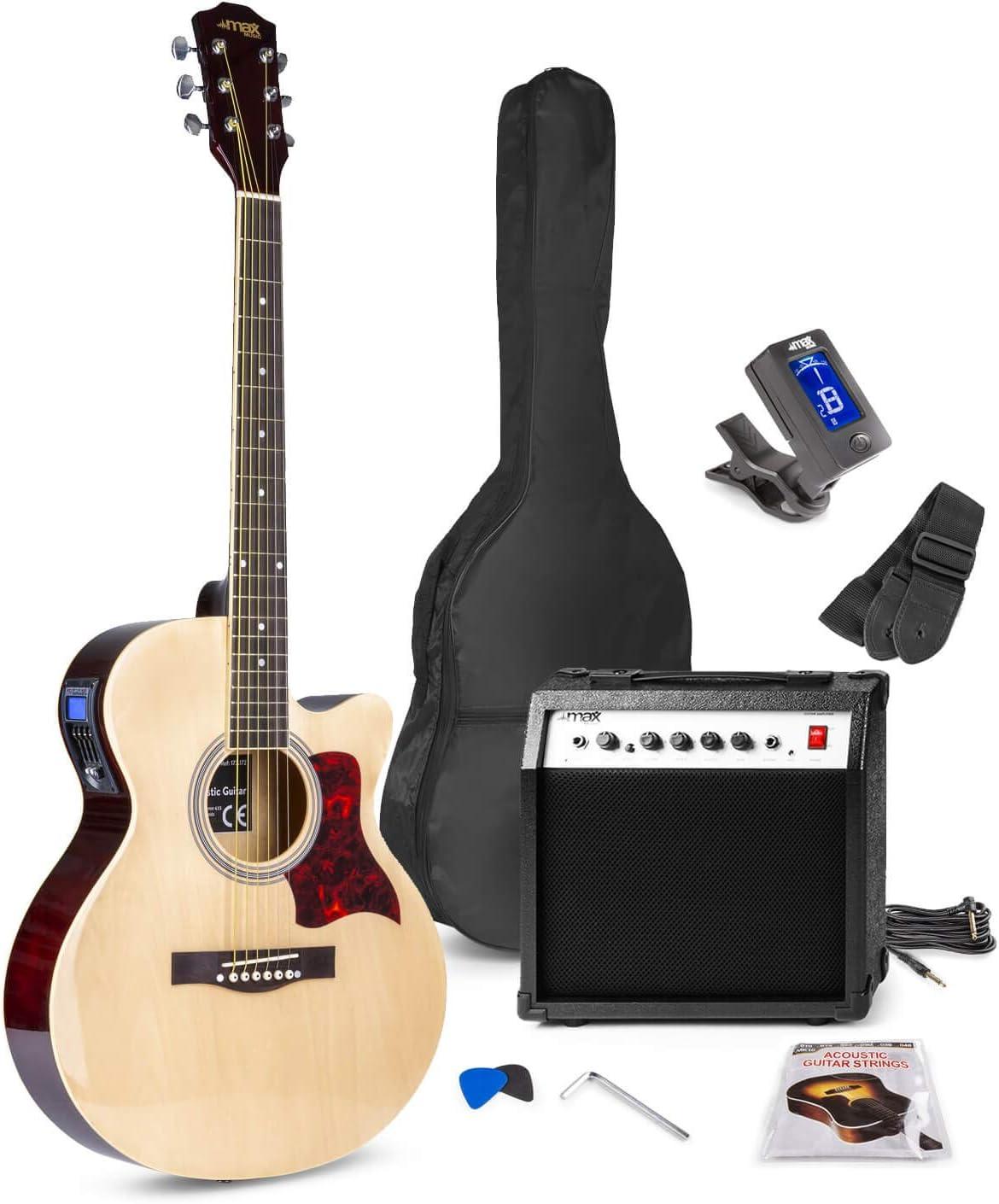 Maz Show, kit de guitarra electroacústica para principiantes.