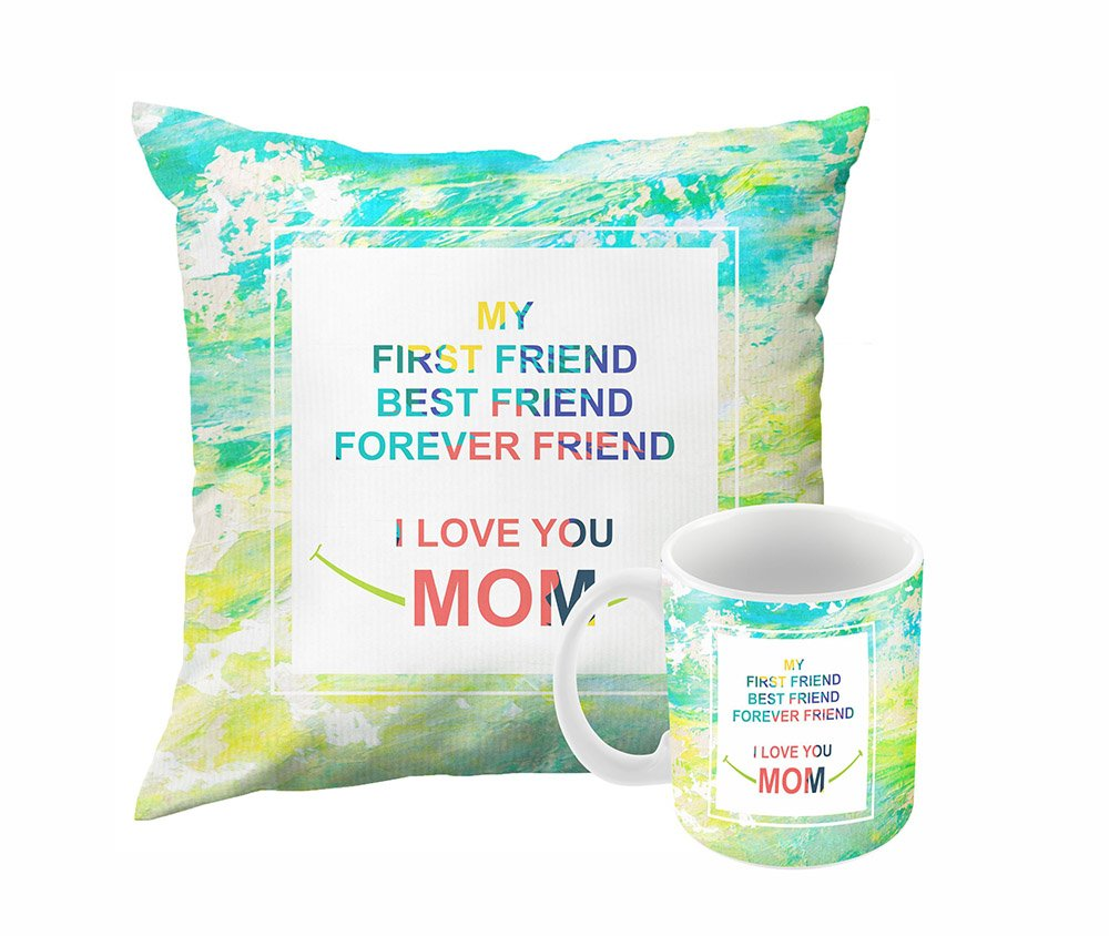 Paper Plane Design Printed Cushion with Filler and Mug (Multicolour)  sc 1 st  Amazon.in & Birthday Gifts for Mom from Daughter: Buy Birthday Gifts for Mom ...