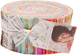 Sunnyside Up Jelly Roll 40 2.5-inch Strips by Corey Yoder for Moda Fabrics 29050JR, Assorted
