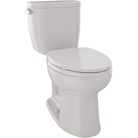 American Standard 2403128 020 Compact Cadet 3 Flowise Tall Height 1 Piece 1 28 Gpf Single Flush Elongated Toilet With Seat White Home Improvement